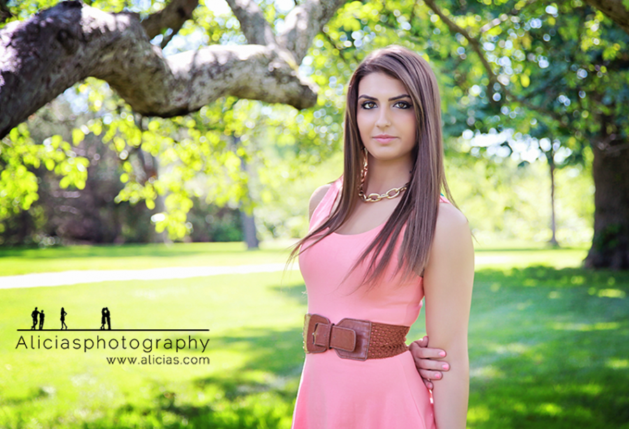 Chicago Naperville High School Senior Photographer...A Pop of Green