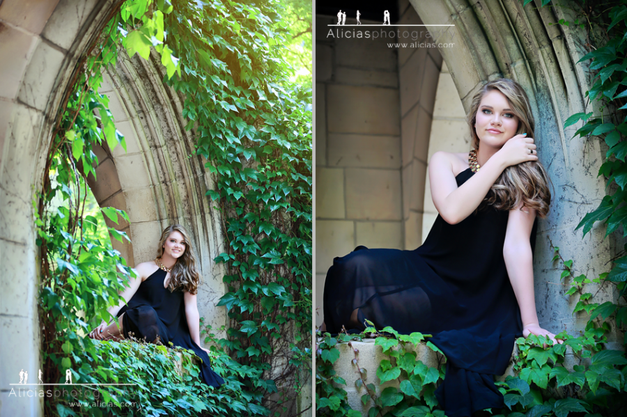 Chicago Naperville Destination Senior Photographer ... Miss Rachael from Virginia feels right at home